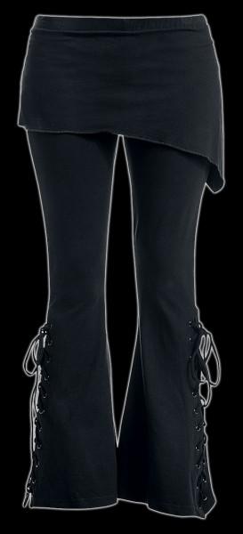 2in1 Boot-Cut Leggings - Urban Fashion