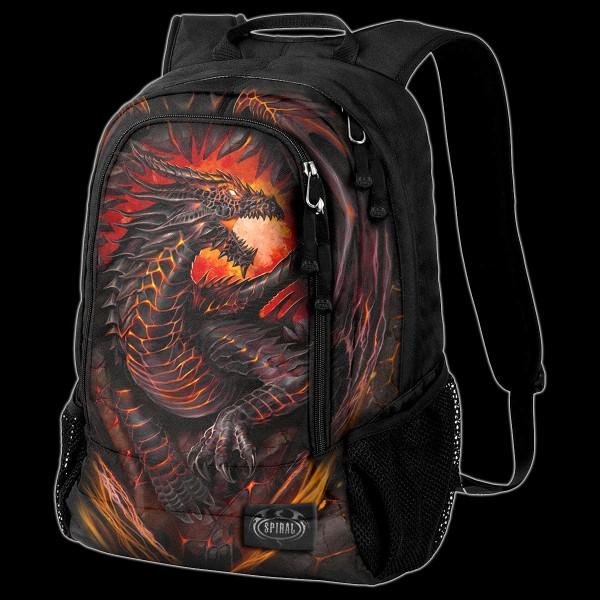 Drachen Rucksack mit Laptoptasche - Dragon Furnace
