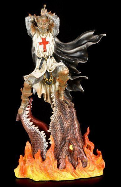 Kreuzritter Figur - Dragon Crusade III - St. Georg