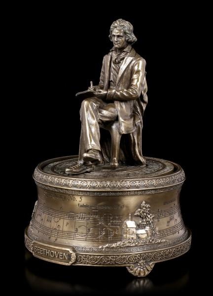 Spieluhr - Ludwig van Beethoven sitzend