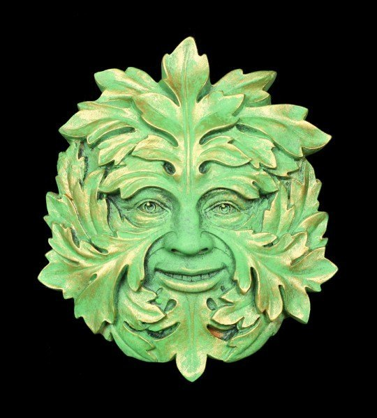Garden Wall Plaque - The Green Mystic