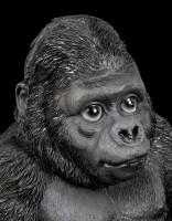Gorilla Figur - Sitzend