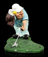 Golf Player Figurine - Eagle Putt
