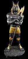 Anubis Figur als Krieger