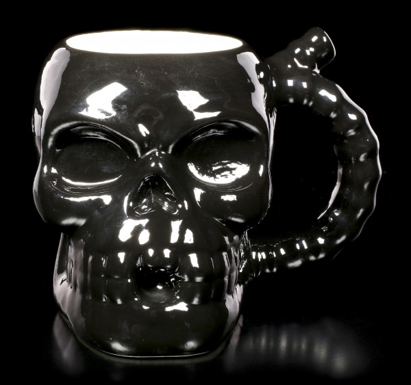 Skull Muggery Pipe Mug