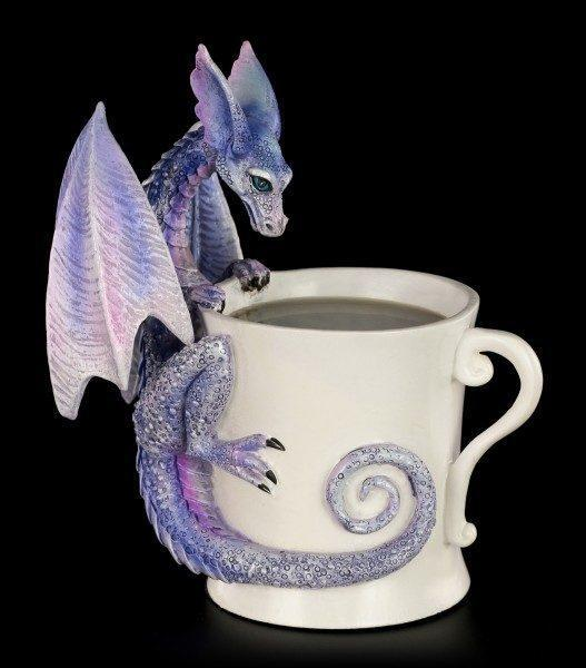 Dragon Figurine - Whatcha Drinkin Faery