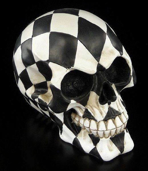 Harlequin Skull
