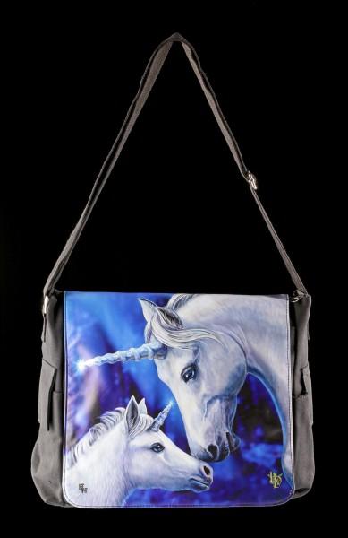Messenger Bag with Unicorns - Sacred Love