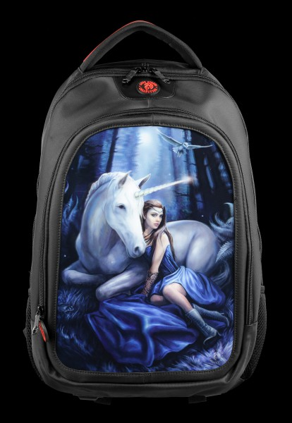 3D Backpack with Unicorn - Blue Moon
