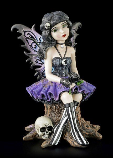 Gothic Fairy Figurine - Little Shadows - Twila