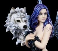 Elfen Figur - Wolf Spirit