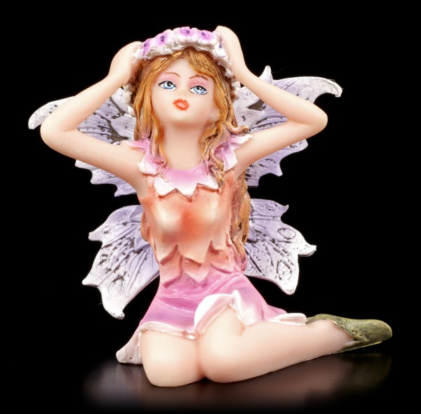 Small Fairy Figurine - Fanaion with Flower Wreath