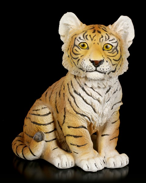 Tiger Baby Figurine - Sitting