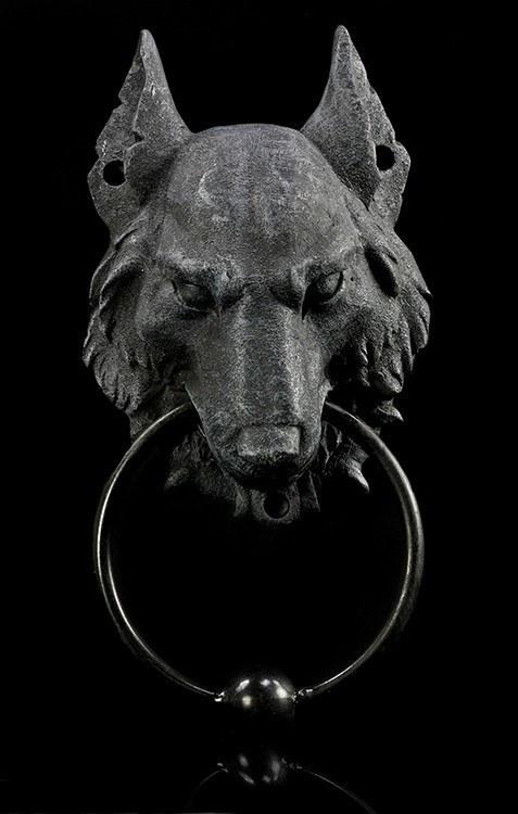 Türklopfer - Wolf