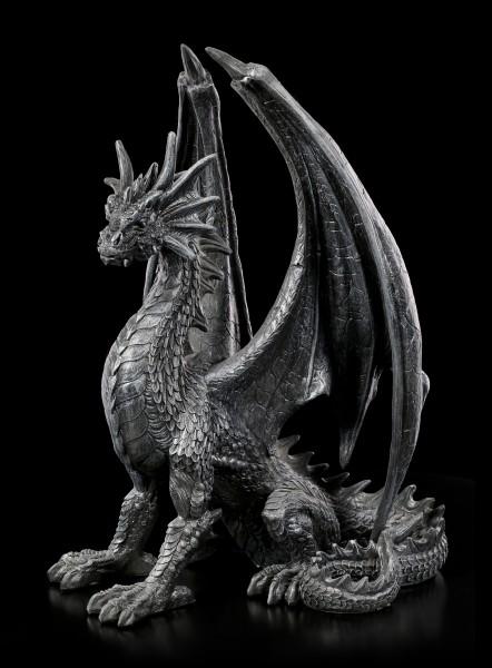 Schwarze Drachen Figur - Black Wing