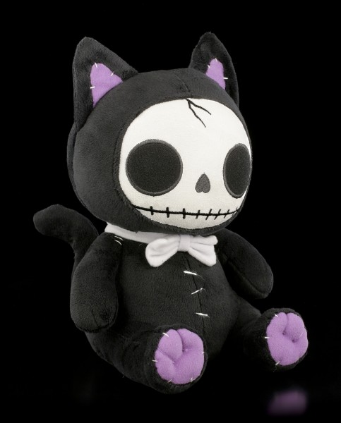 Furry Bones Plush Figurine - Black Mao-Mao