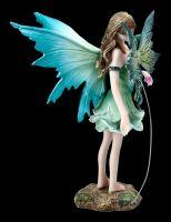 Elfen Figur - Gruni mit Drache