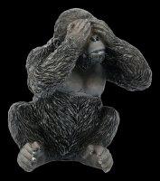 Three wise Gorillas Figurines