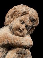 Angel Garden Figurine - Rust look right