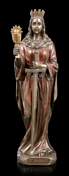 Saint Barbara Figurine