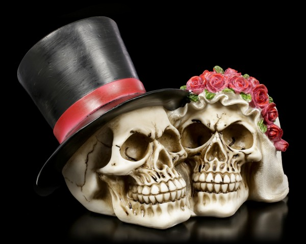 Skull - Bridal Couple large