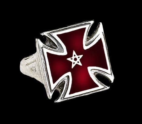 Alchemy Gothic Ring - Pentacle Forme