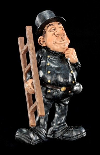 Funny Job Figurine - Chimney Sweeper