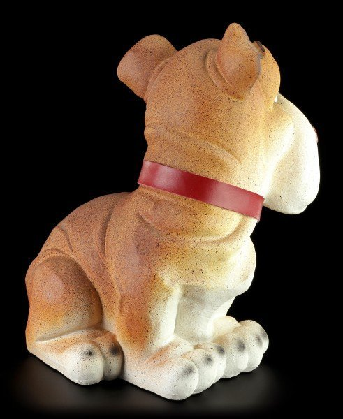 Lustige Hunde Figur - Bulldogge