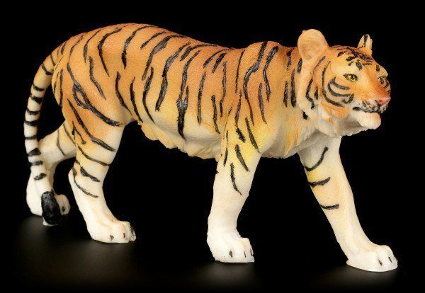 Tiger Figurine - Walking Small