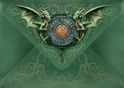Fantasy Geburtstagskarte mit Elfe - Mystic Aura