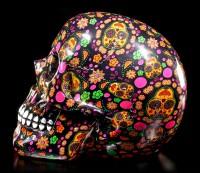 Colourful Day of the Dead Skull - VIVA!