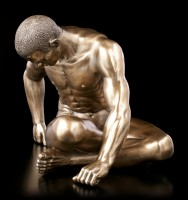 Male Nude Figurine - Turning to the Side - large