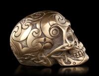 Celtic Skull bronze mini