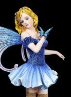 Elfen Figur - Alice mit Schmetterling
