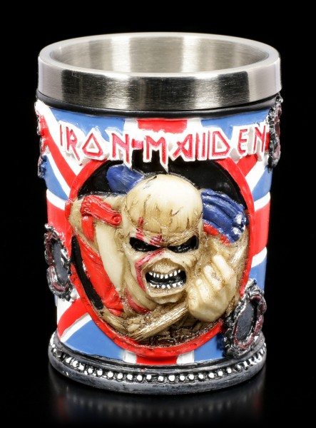 Iron Maiden Schnapsbecher - Trooper