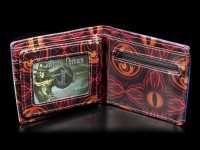 Men's Wallet with Dragon - Fire From The Sky - embossed