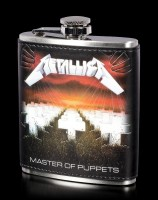 Metallica Hip Flask - Master of Puppets