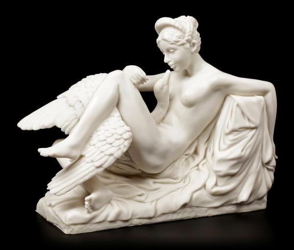 Leda and the Swan - Figure white