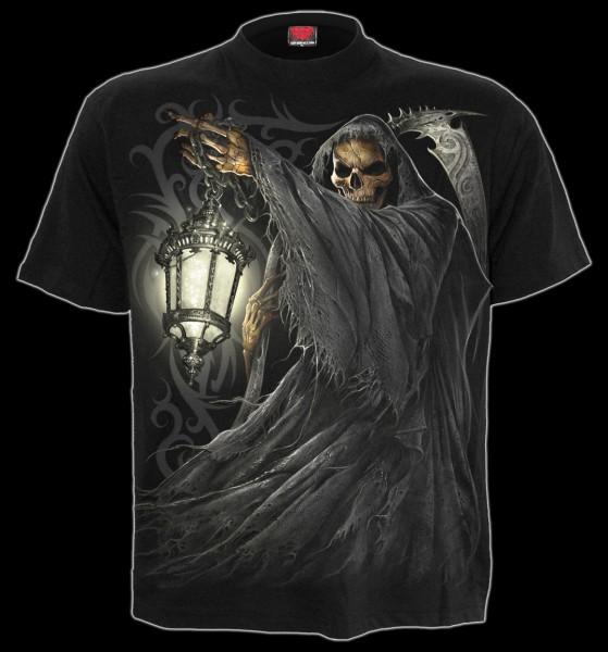 Skelett Reaper T-Shirt - Death Lantern