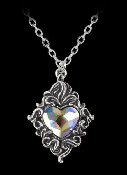 Crytsal Heart - Alchemy Pendant