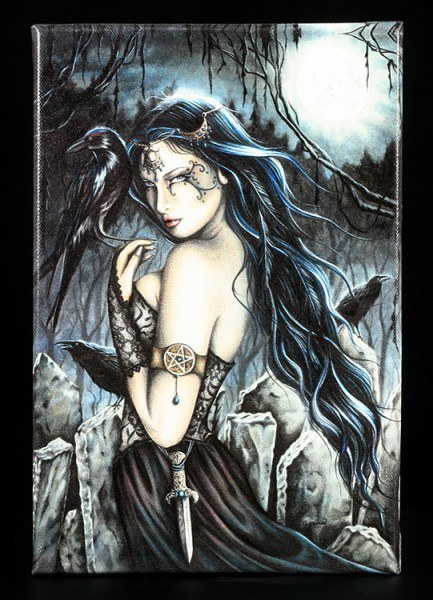 Leinwand-Druck - The Morrigan - Jessica Galbreth