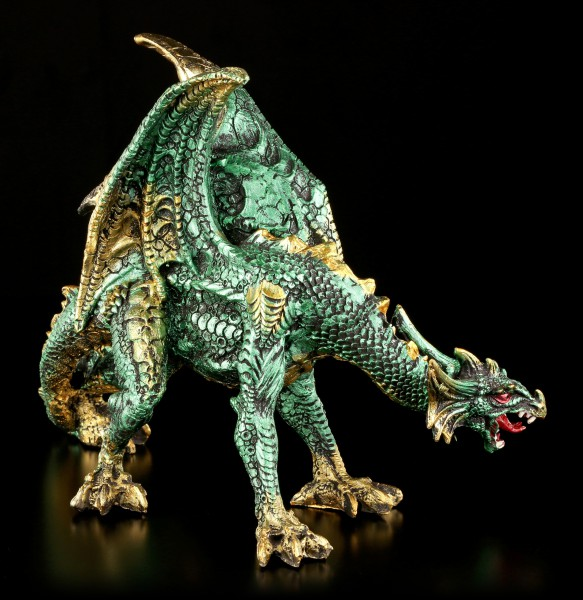 Drachen Figur grün - Emerald Creeper