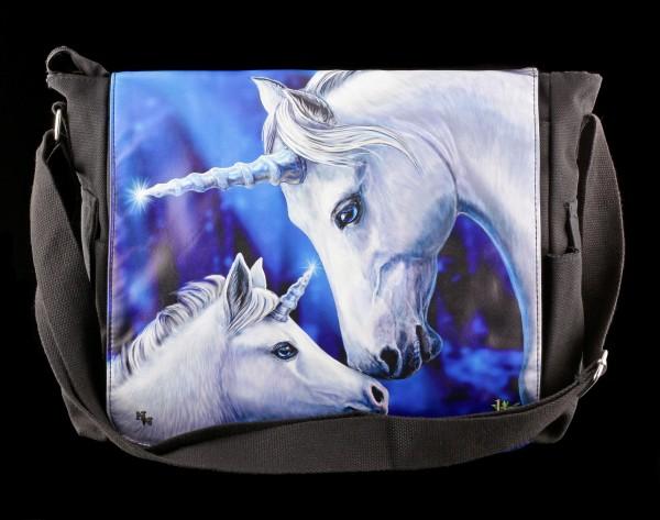 Preview: Messenger Bag with Unicorns - Sacred Love