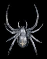 Wandlampe - Große Spinne mit LED - Batteriebetrieben