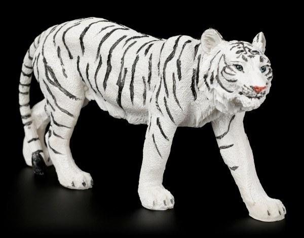 White Tiger Figurine - Walking Small