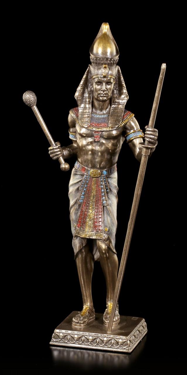 Ägyptische Pharao Figur mit Zepter