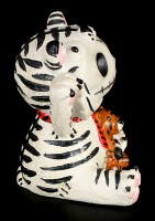 Tiger White Tigrrr - Furry Bones Figurine