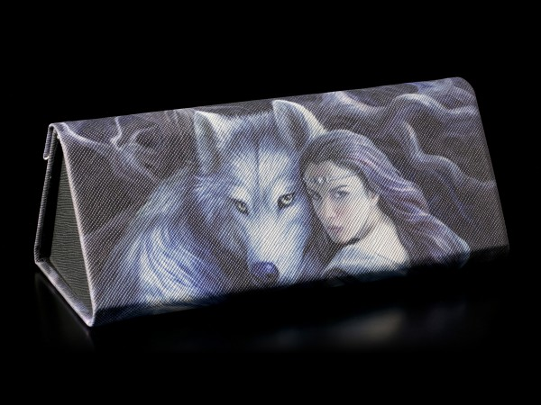 Glasses Case with Wolf - Soul Bond
