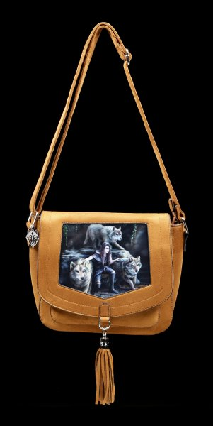 3D Side Bag with Wolves - Power Of Three