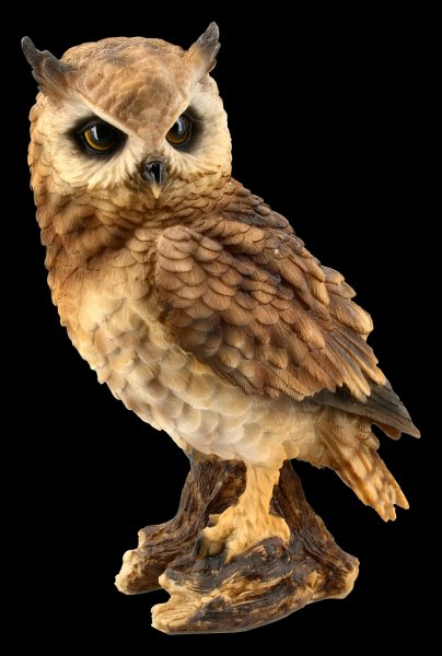 Long-Eared Owl Figurine - large
